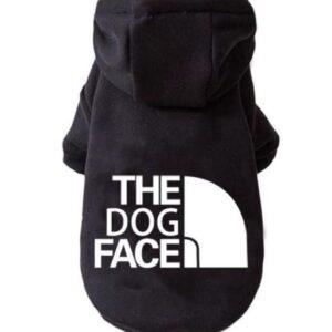 Felpa The Dog Face nera