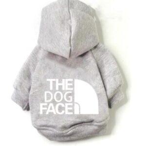 felpa The Dog Face grigio