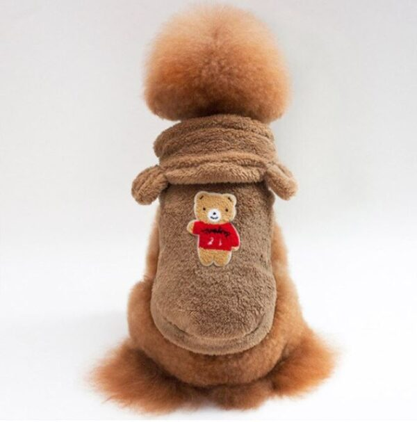 maglioncino teddy MOKA